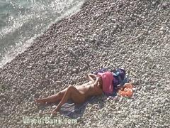 Spy cam on nudist beach
