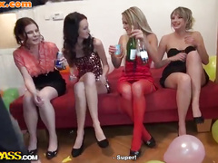 Sexy fucking girls at a B-day party 3