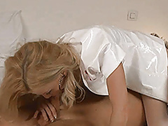 Busty nurse treatment
